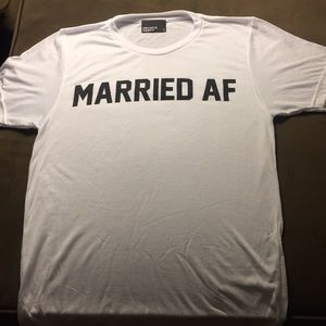 NWOT Private Party Married AF Tee Shirt Sm/Med